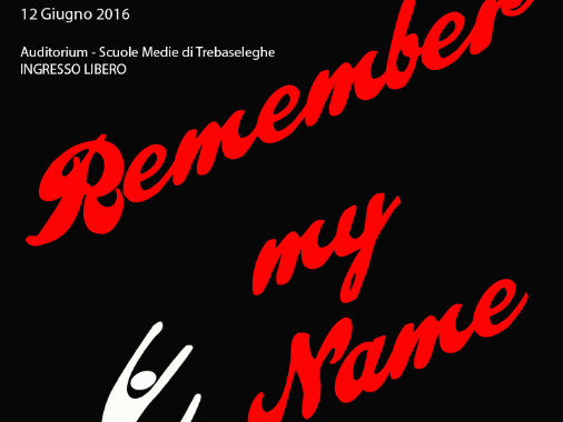 "Spettacolo di danza ""Remember my name"""
