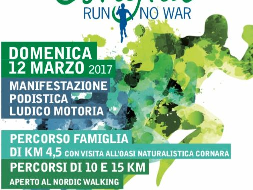 1° marcia Ostiglia Run no war